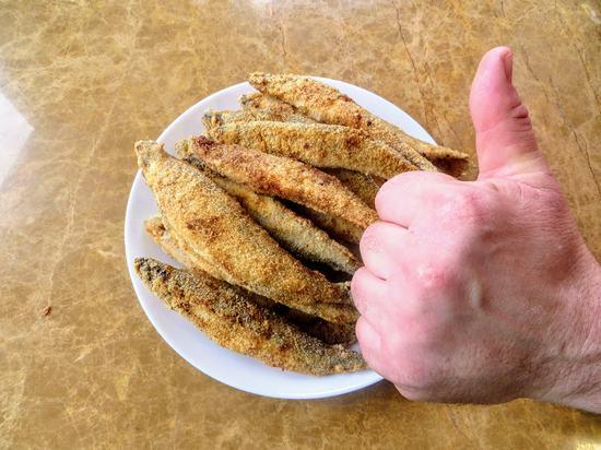 Как приготовить вкусно корюшку в панировке