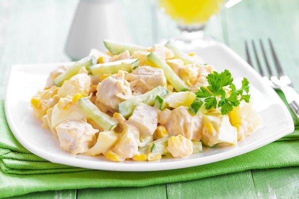 Очень простой и вкусный диетический салат