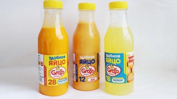 Продукт завтрашнего дня: Жидкие яйца в бутылке, какие изменения произойдут в ближайшие несколько лет