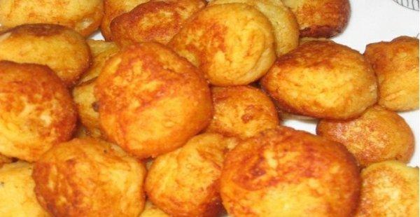 Как приготовить картофельные пампушки с мясной начинкой