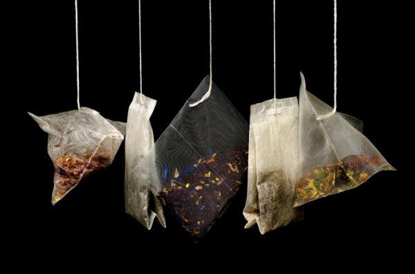 Чайные пакетики, не только для заварки чая. 11 способов применения в быту