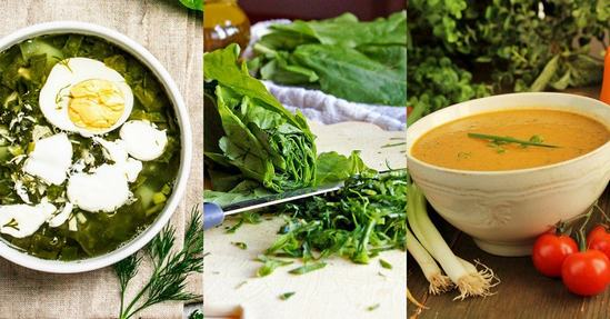 Весенние витаминные супы