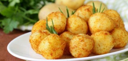Румяные картофельные шарики
