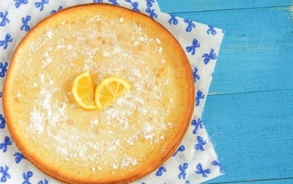 Вкусный пирог с миндальной мукой и лимонной цедрой