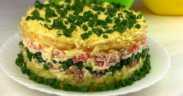 5 самых популярных в всём мире салатов с тунцом