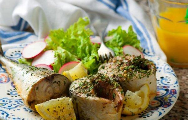 Как просто приготовить за 10 минут вкусное блюдо из  скумбрии в микроволновке