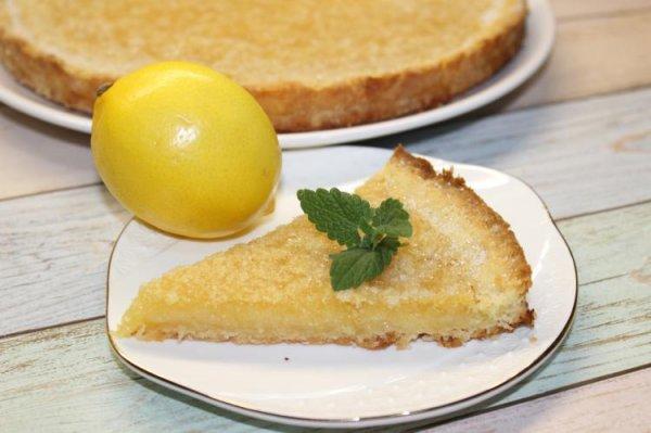 Песочный пирог с насыщенным цитрусовым вкусом. (Фоторецепт)