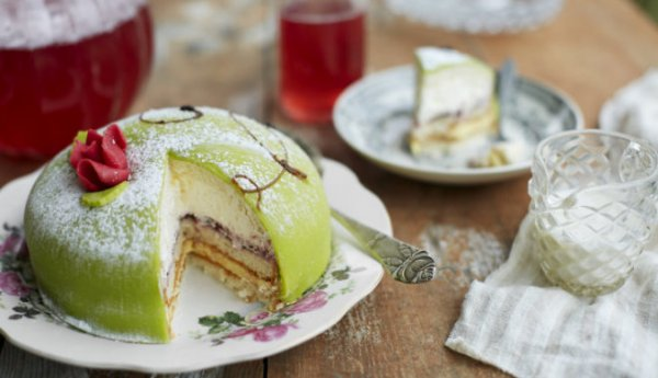 """Необыкновенно вкусный шведский торт """"Принцесса"""""""
