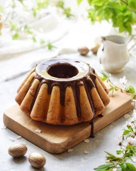 Несложный рецепт выпечки для выходного дня: кекс с клюквой