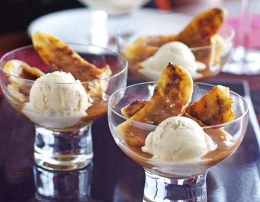 Популярнейший китайский десерт: жареные бананы с карамельным соусом