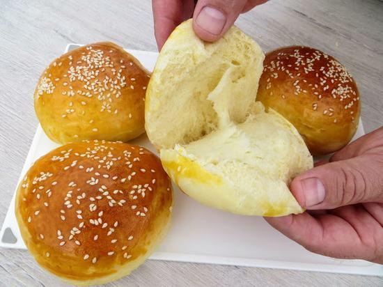 Как приготовить идеальные булочки для бутербродов и гамбургеров. (Фоторецепт)