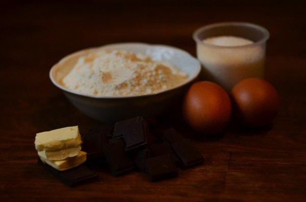 Простой рецепт вкусного и прикольного на вид шоколадного печенья.(Фоторецепт)
