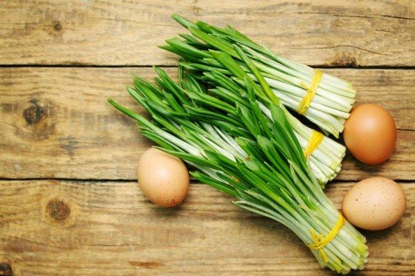 5 весенних, витаминных рецептов с черемшой
