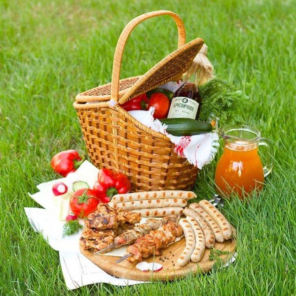 Собираем корзинку для качественного пикника
