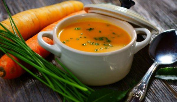 Морковный суп для сохранения фигуры
