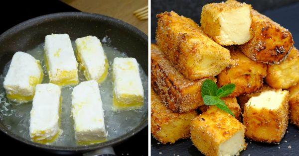 Как приготовить традиционный испанский десерт: Жареное молоко