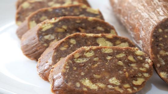Очень вкусный и быстрый десерт: Сладкая колбаска