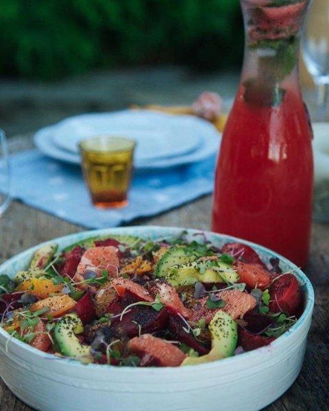 Простой и полезный салат, настоящая витаминная бомба