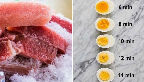 Полезные шпаргалки и советы для хозяйки на кухне