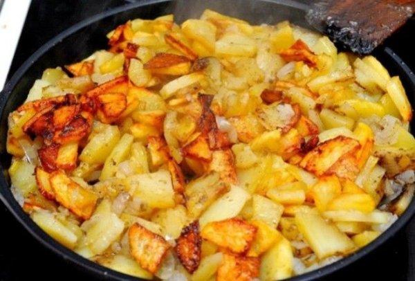 6 правил, как и вкусно пожарить картошку