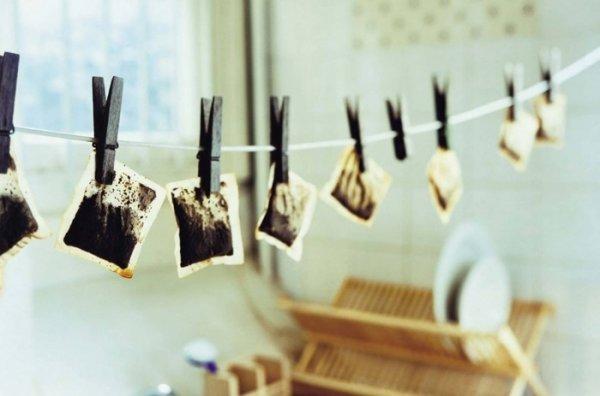 11 способов повторного применения чайного пакетика