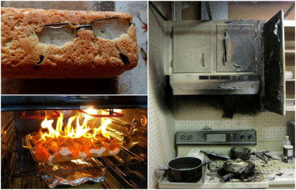Люди, у которых не заладилось с кулинарией. (17 фото)