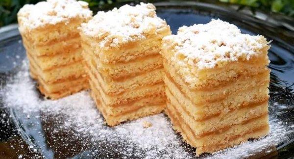 Ароматный, нежный торт, который тает во рту: «Небо на губах». (Фоторецепт)