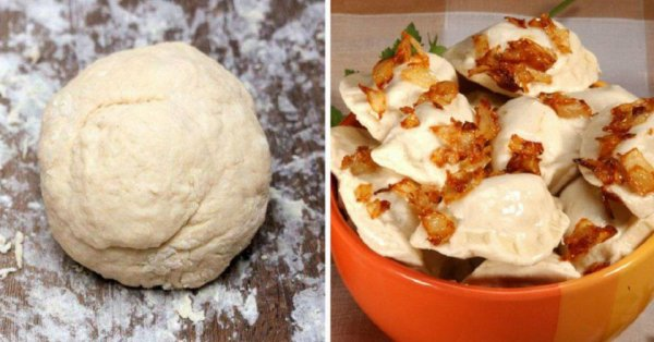 Как быстро приготовить тесто для вареников и пельменей на минеральной воде