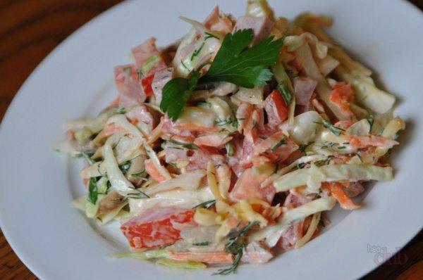 Быстрый и вкусный салат «Венеция». Несколько минут и все готово