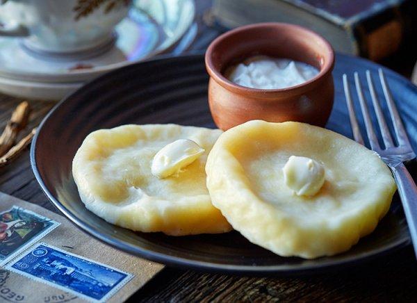 Квери с сыром на завтрак
