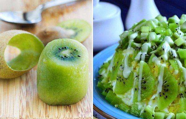 5 способов, как просто, быстро почистить киви и три рецепта с этим полезным фруктом