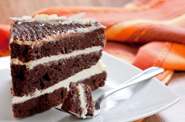 Сказочный торт на кефире: «Черный принц»