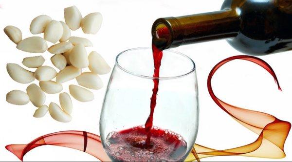 Настойка чеснока на красном вине: Средство, чтобы вывести соли из организма, повысить работоспособность, укрепить сосуды