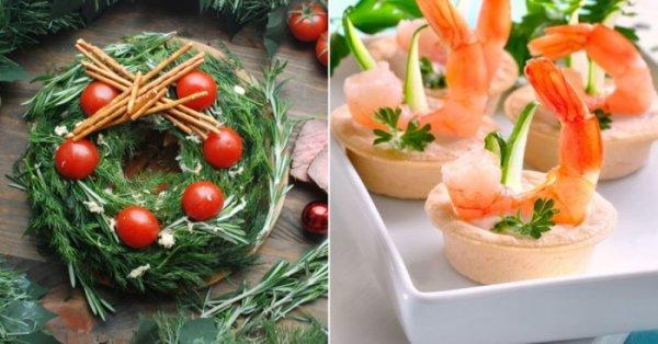 6 аппетитных закусок для новогоднего стола, которыми стоит задобрить хозяйку грядущего года