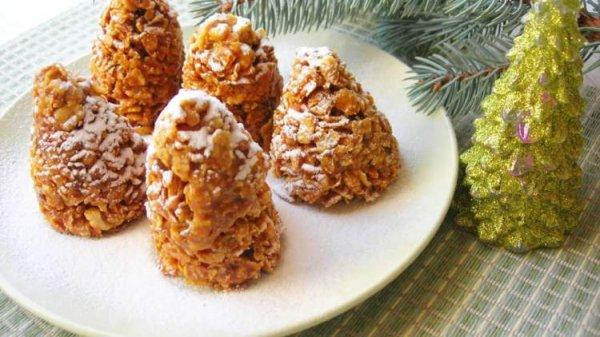 Два рецепта вкусного и интересного  десерта без выпечки на новогодний стол