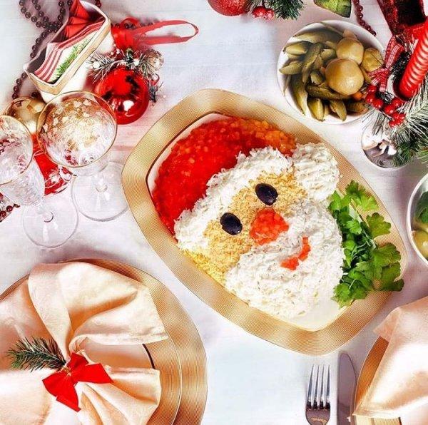 Как накрыть Новогодний стол 2020 за 1000 рублей
