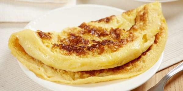 Как приготовить королевский омлет с молоком и яйцом на сковороде