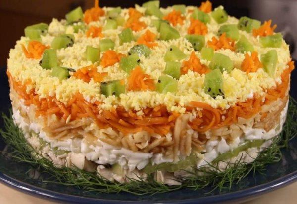 Очень вкусный и сытный салат «Леди»