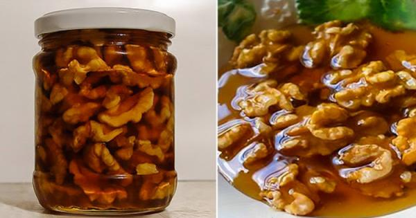 Вот что произойдет с вами, если вы смешаете мед и орехи. Ешьте это каждый день и не пожалеете!