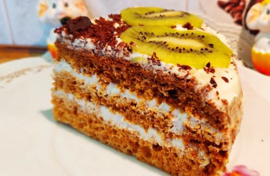 Как приготовить торт медовик в мультиварке