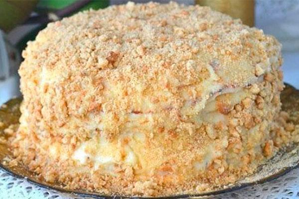 Классный торт «Пломбир» — и никакая духовка не нужна