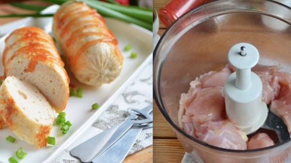 Как просто приготовить вкусные и полезные куриные сосиски в домашних условиях