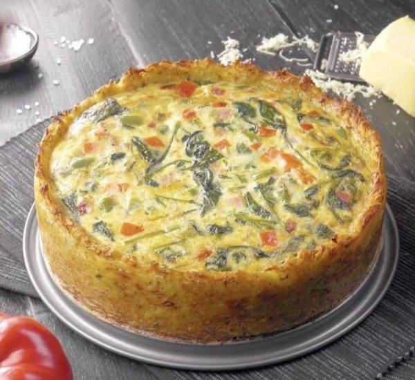 Как очень просто приготовить картофельный пирог «Дерун» с очень вкусной начинкой