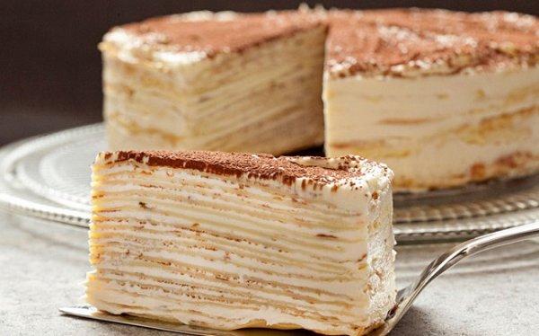 Очень вкусный французский торт «Крепвиль»