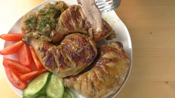 Интересный рецепт, как приготовить мясо на сковороде с дымком, со вкусом шашлыка