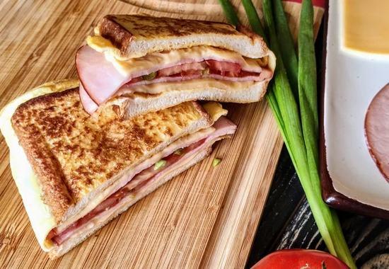Вкусный, сытный и полезный завтрак за 8 минут