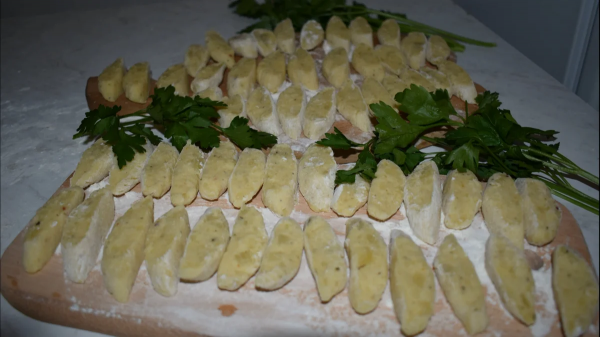 Картофельные кнедлики (клецки) по-чешски. ( Фоторецепт)