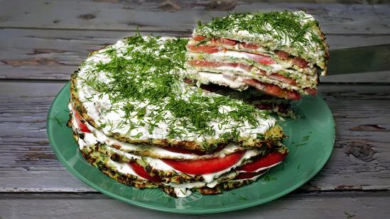 Как приготовить вкуснейший кабачковый торт. ( Фоторецепт)