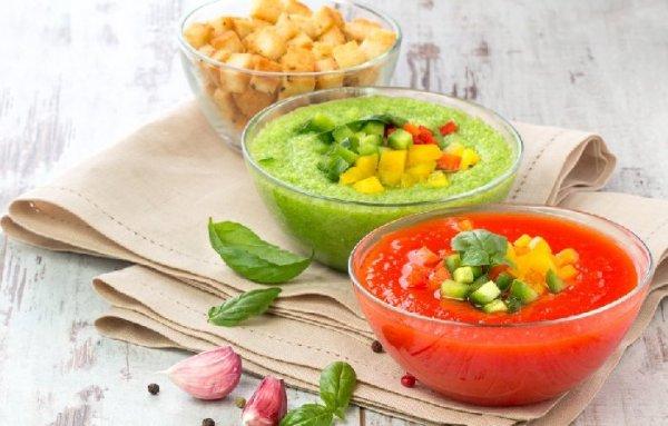 Гаспачо за 15 минут, или 5 необычных рецептов холодного супа