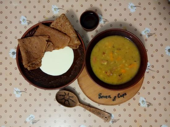 Польский гороховый суп по-крестьянски